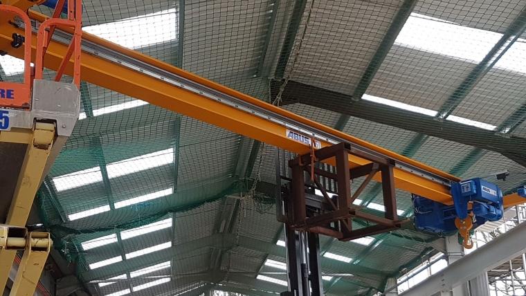 New Cranes Arrive