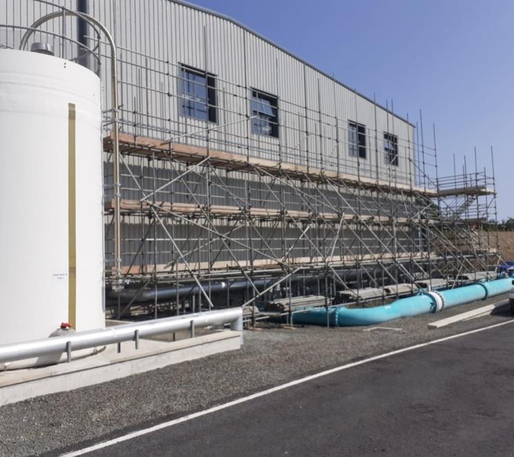 Commercial Scaffolding by Hewaswater Scaffolding Plymouth, Devon