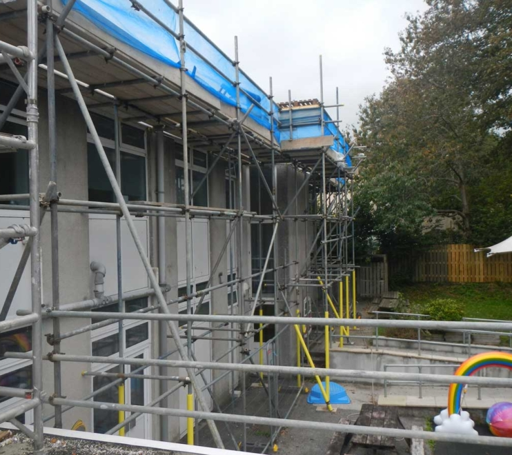 Commercial Scaffolding by Hewaswater Scaffolding Doubletrees, Cornwall