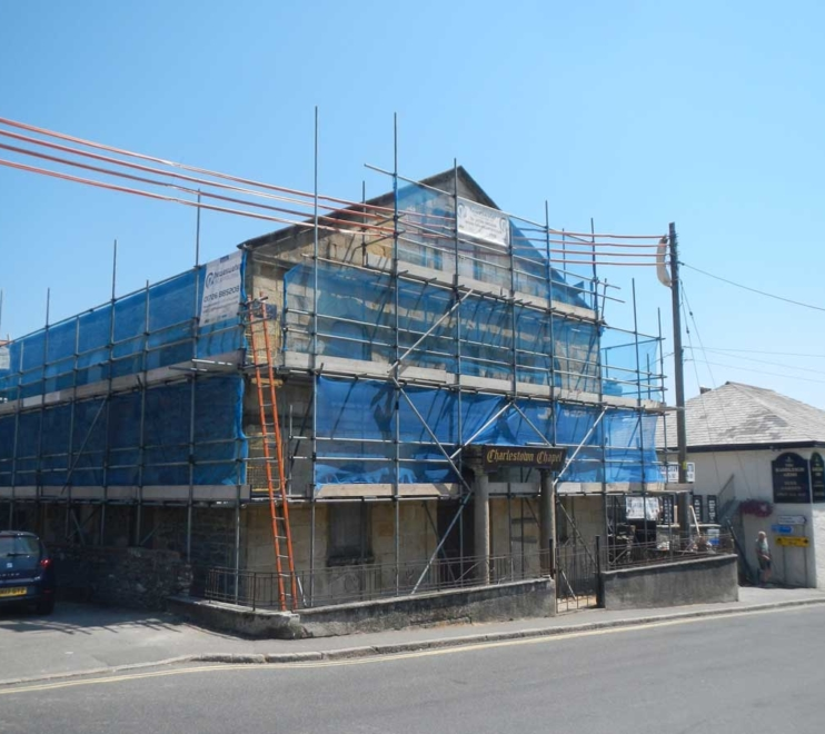 Commercial Scaffolding by Hewaswater Scaffolding St Austell, Cornwall